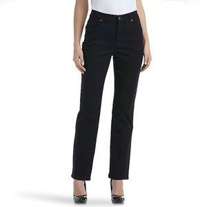 Gloria Vanderbilt black Amanda fit jeans